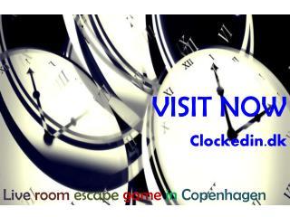 Live Escape Game | Clockedin.dk