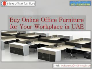 How to Preserve Money On online Office Furniture in UAE