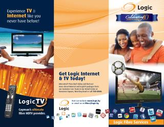 Get Reliable and Consistent Fibre Service from LOGIC at an Affordable Price!