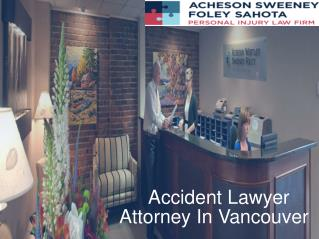 Accident Lawyer Vancouver