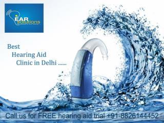 Hearing aid dealers delhi  Call Ear Solutions @  91-8826144452