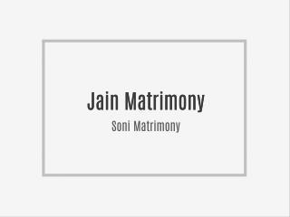 Jain Matrimony