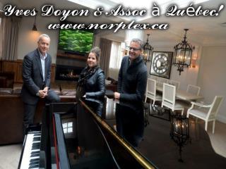 Yves Doyon & Assoc à Québec!