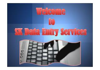 Best Online data entry services