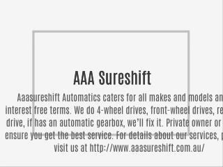 AAA Sureshift