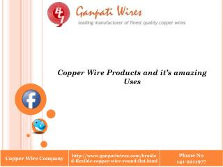 Copper Wire Products and it's amazing Uses