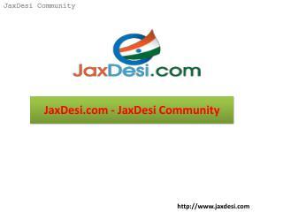 JaxDesi.com - JaxDesi Community