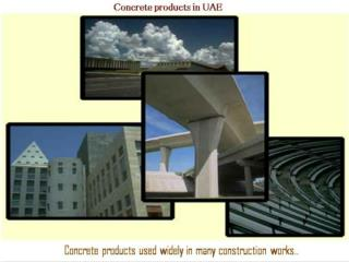 Concrete Products UAE