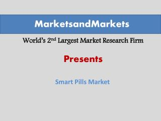 Smart Pills Market worth $8.98 Billion by 2024