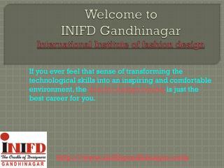 Interior design institute INIFD Gandhinagar