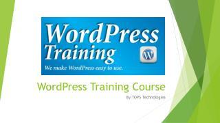WordPress Training Institute in Ahmedabad