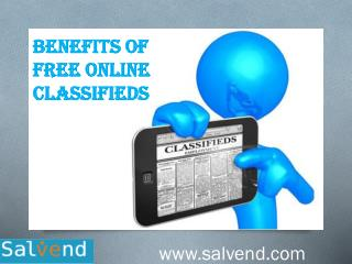 Benefits Of Free Online Classifieds