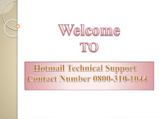 Hotmail forgot password reset by hotmail support