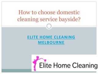 Elite Home Cleaning - Eco Friendly Home Cleaning Bayside | House Cleaning Service