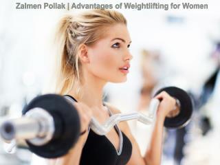 Zalmen Pollak | Advantages of Weightlifting for Women