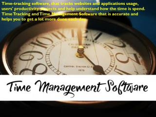Best Time Management Software