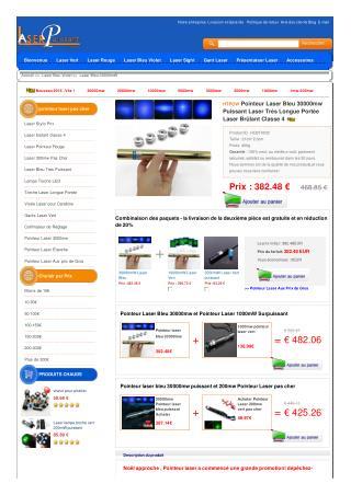 HTPOW Acheter Pointeur laser bleu 10000mW