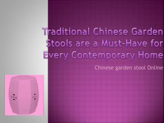 Chinese Garden Stool Online
