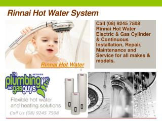 Rinnai Hot Water System