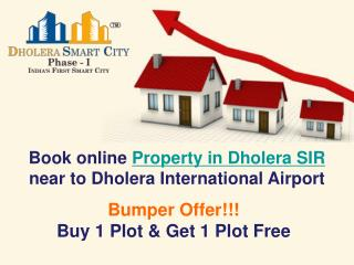 Book Property in Dholera SIR Gujarat