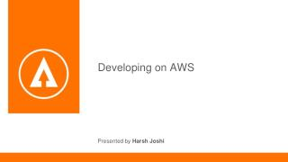 Developing on Amazon Web Services