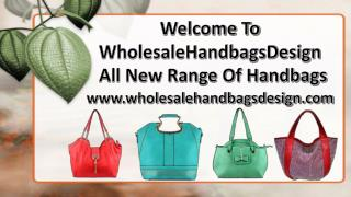 New Arrivals on Wholesale Handbags