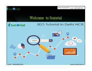 SEO Tutorial In Delhi NCR