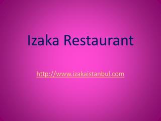 Istanbul best restaurants