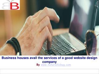 Go for a good website design company