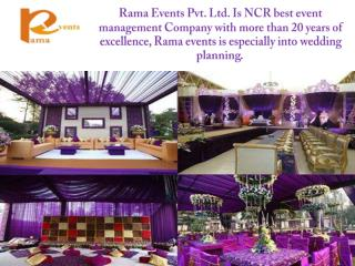 Wedding Planners in Delhi to Create the Party of Your Dreams