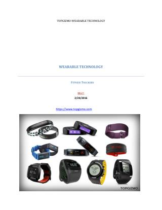 Wearable technology TopGizmo