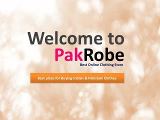 Pakistani Designer Dresses