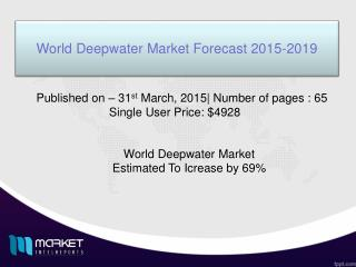 Long-term view of Deepwater Market, 2015 to 2019