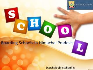 Boarding Schools In Himachal Pradesh