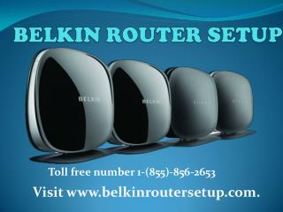 Belkin Range Extender toll free number 1-(855)-856-2653