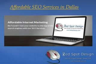 Affordable SEO Services in Dallas
