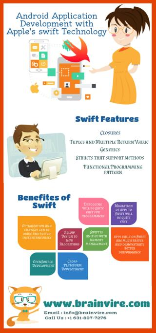 Android Application Development with Apple's Swift Technology