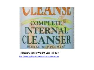 Triclean Cleanse