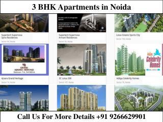 3 BHK Apartments in Noida