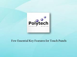 Touch Panel Suppliers Singapore