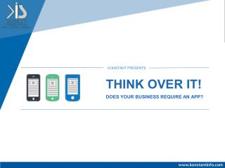 Think Over It! Does Your Business Need an App
