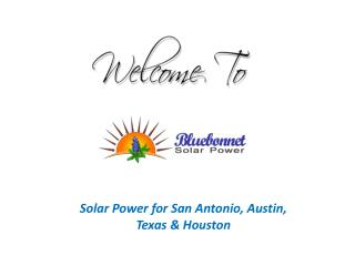 San Antonio Solar Power