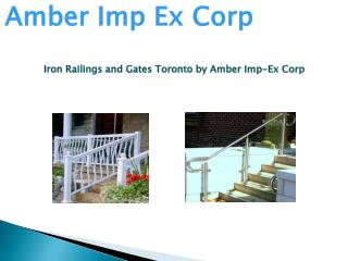 Iron Railings and Gates Toronto
