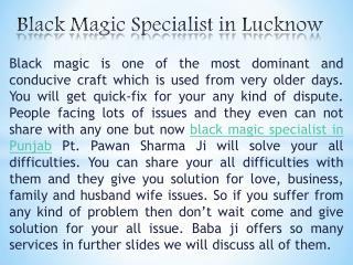 Black magic specialist in Lucknow