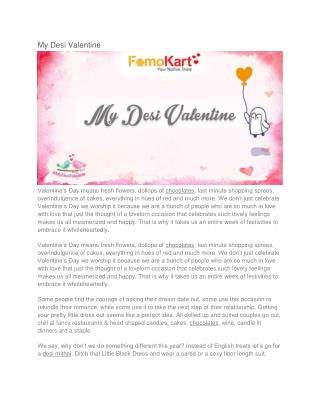 Desi Valentine