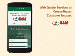 Website Design Services to Create Better Customer Journey