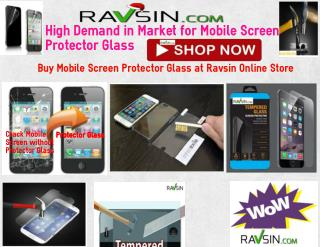 High Demand in Market for Mobile Screen Protector Glass