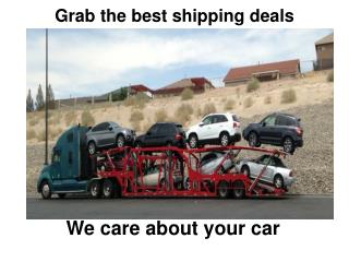 Grab The Best Shipping Deals