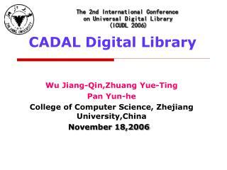 CADAL Digital Library
