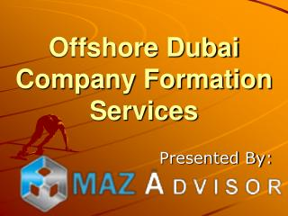 Offshore dubai company formation